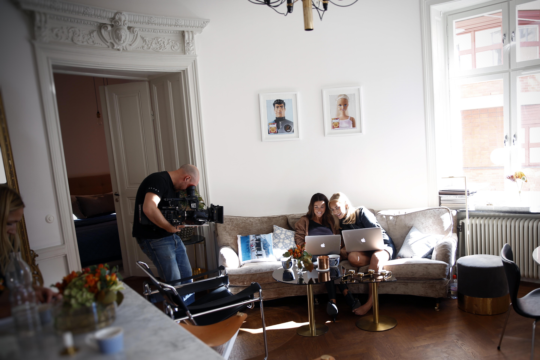 vinjettinspelning för ellos home - sanna & petra #stylarhem - petra