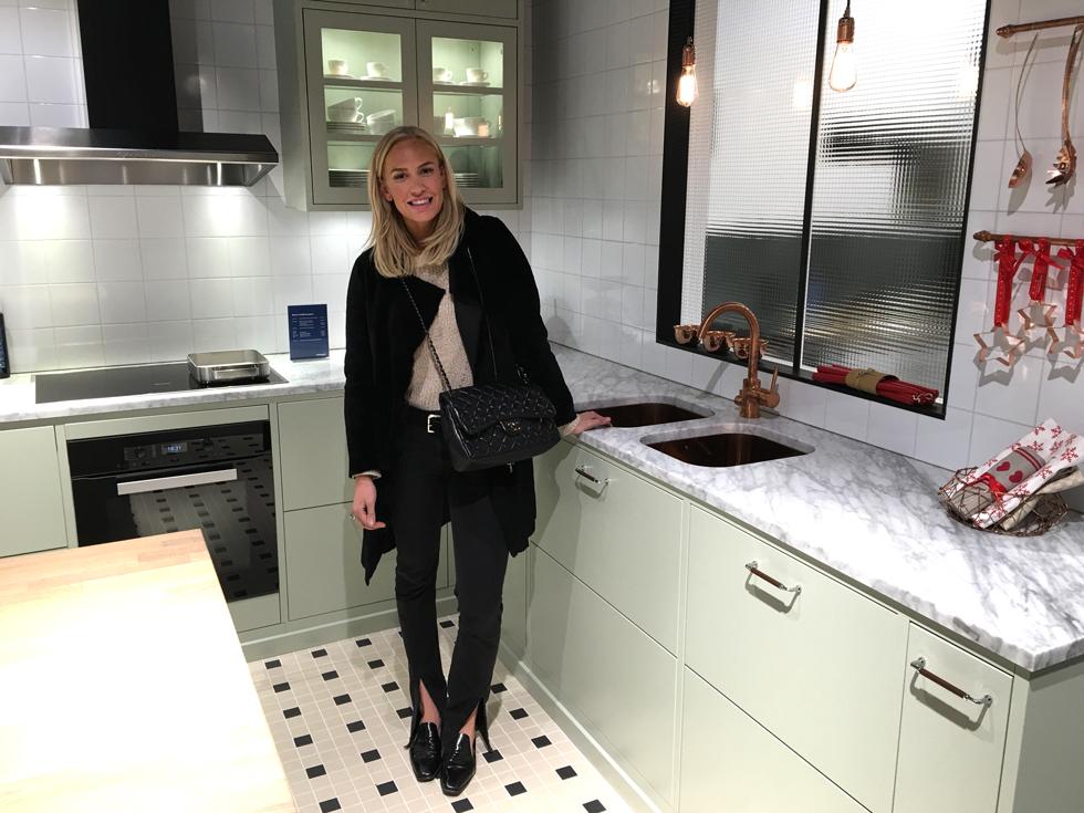 Öppna Upp Väggen& Beställa Kök Petra Tungården Metro Mode