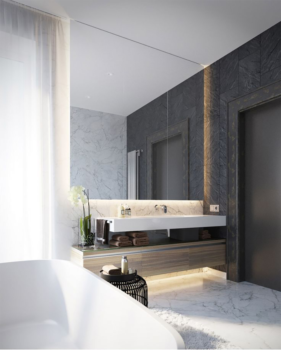 Renovering: badrum inspiration   petra tungården   metro mode