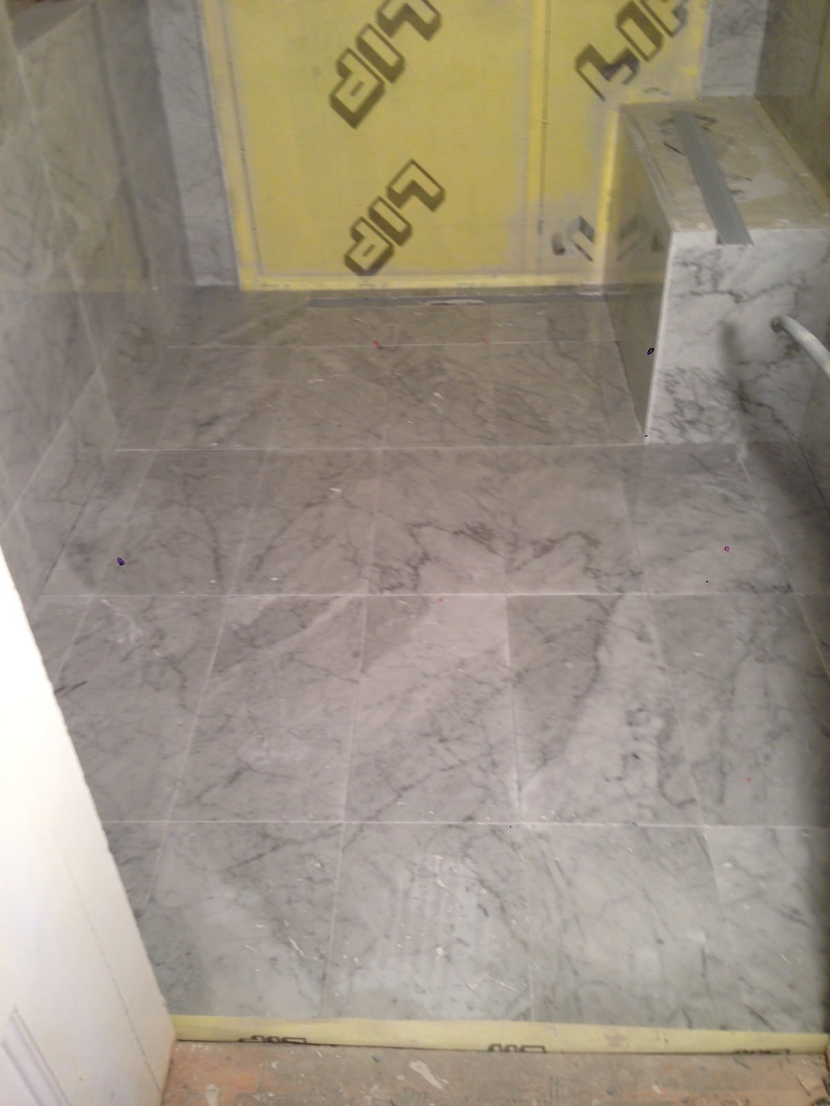 Renovering: Badrum i marmor 2.0 - Petra Tungården - Metro Mode
