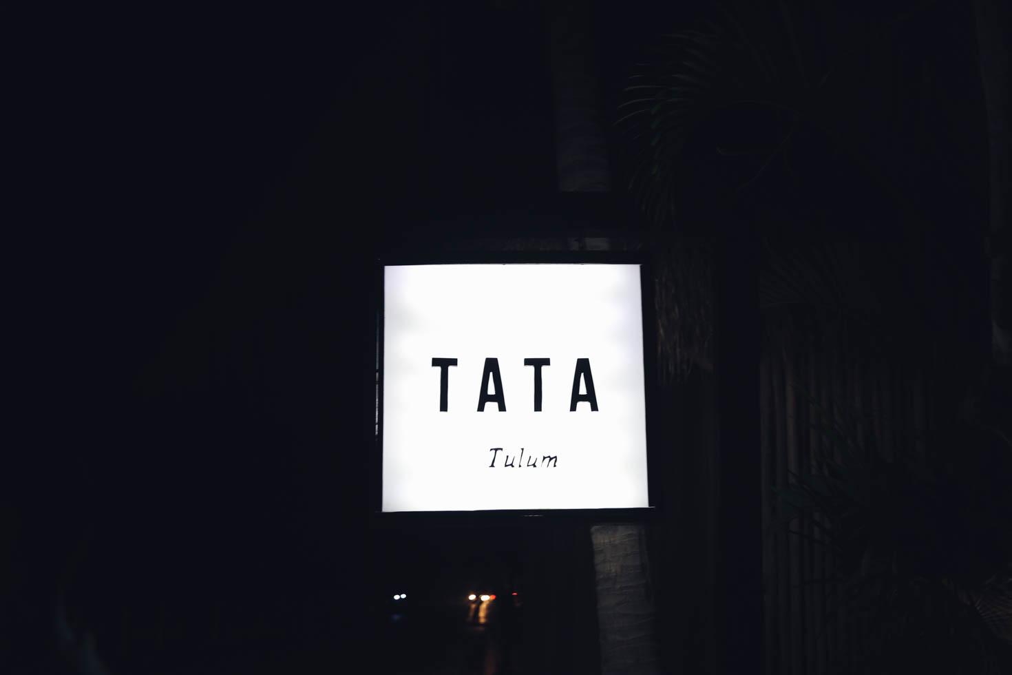 Checka in på Tata Tulum, Middag på Mur Mur och Kojhäng på Bejuco.